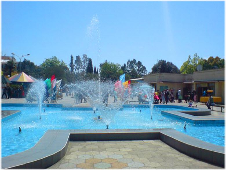 фото фонтанов в парке