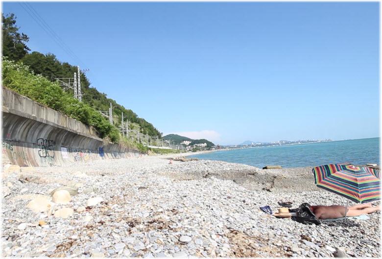 фото Нудистского пляжа Дагомыса