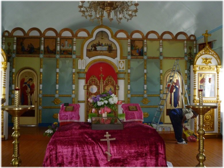 иконостас Свято-Пантелеймоновского храма