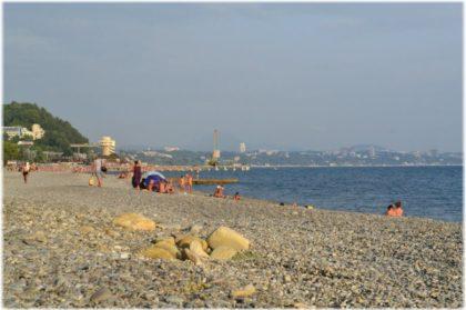Нудистский пляж в Дагомысе