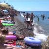 пляж Фламинго в Лазаревском