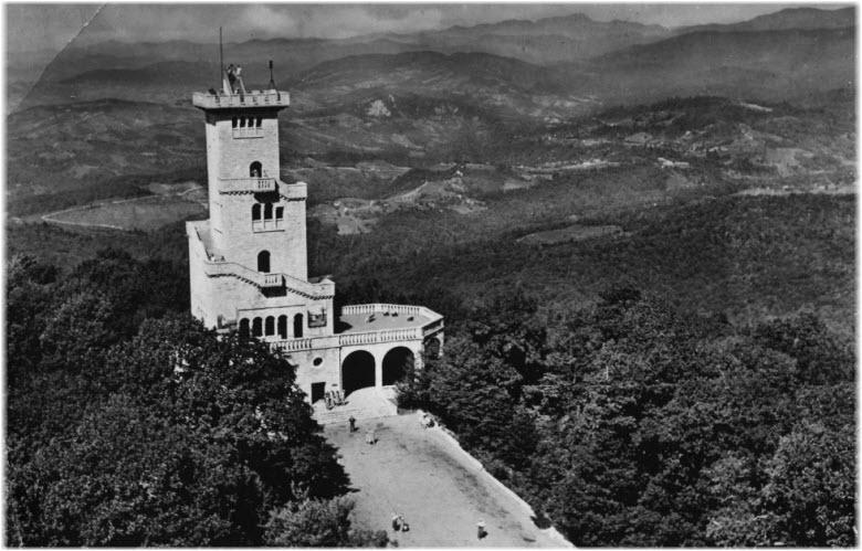 старые фото башни Ахун