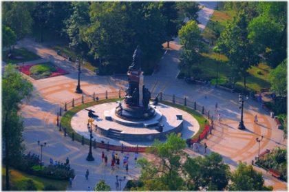 Екатерининский сквер в Краснодаре