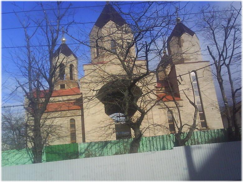 фото Армянской церкви в Новороссийске