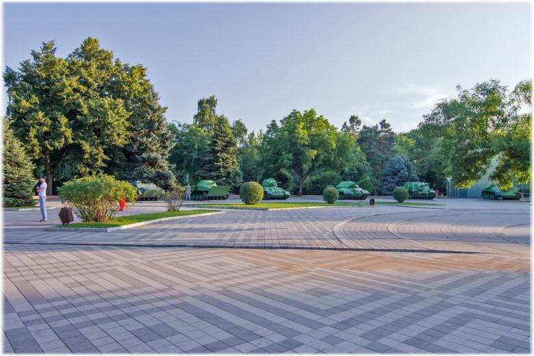 фото площади в парке Победы