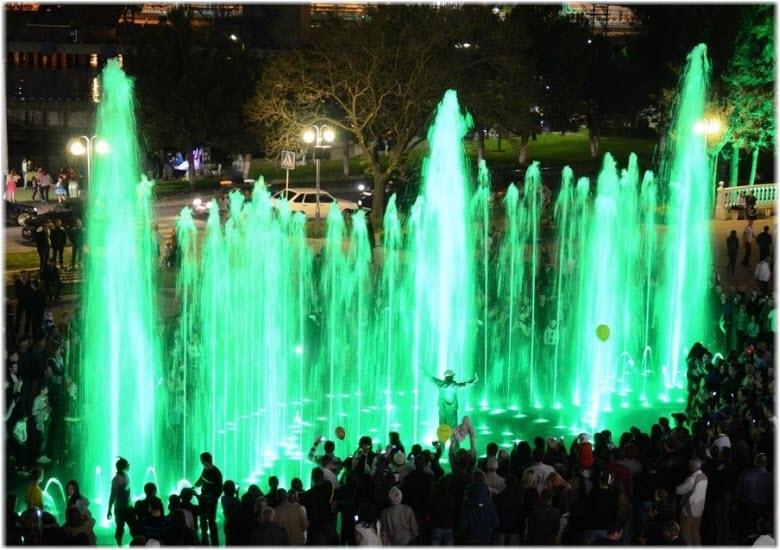 фото Поющего фонтана