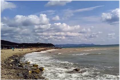 Молчановский пляж в Джубге