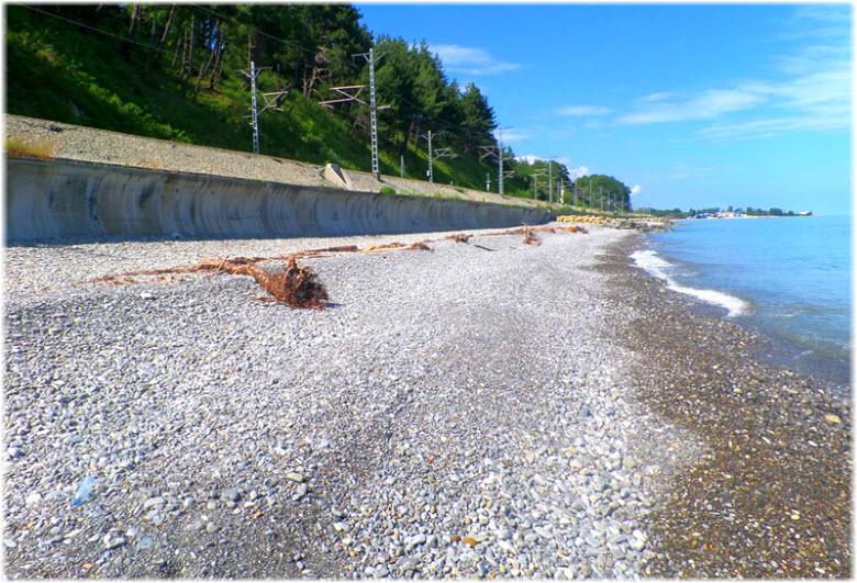 Нудистский пляж в Лазаревском