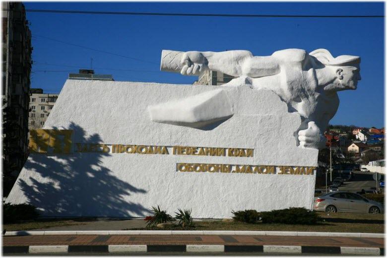 Памятник Матрос с гранатой в Новороссийске