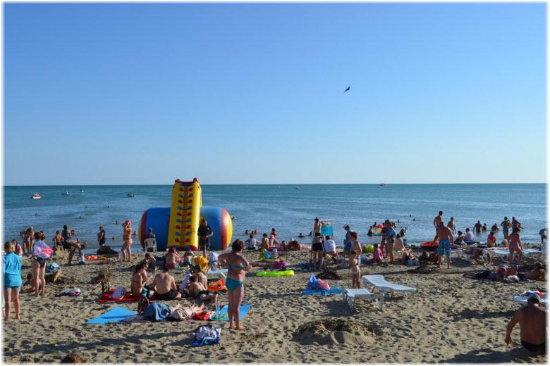 развлечения на Джубгинском пляже