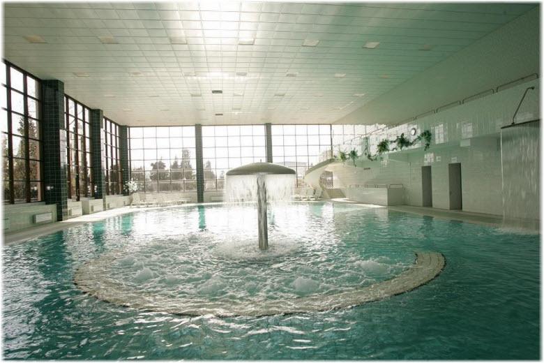 бассейн в санатории Беларусь