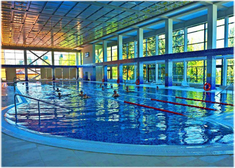 бассейн в санатории Сочи