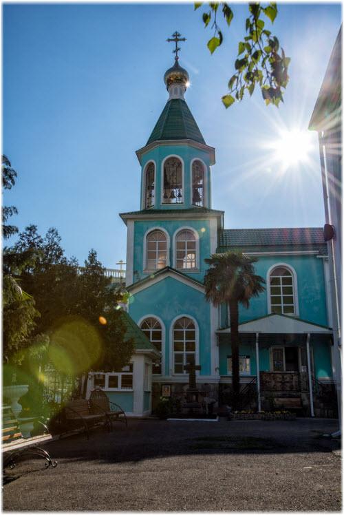 фото церковной колокольни