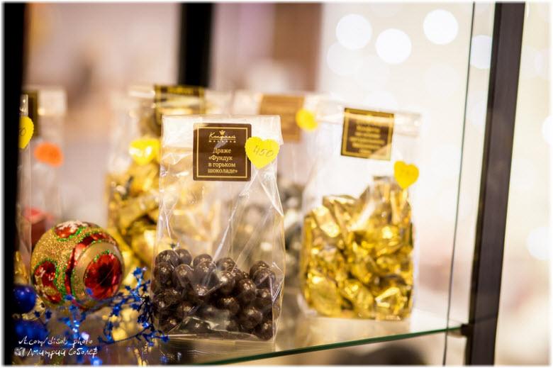 фото в музее шоколада