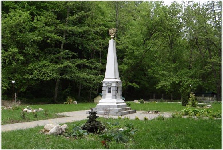 обелиск у Иверской часовни