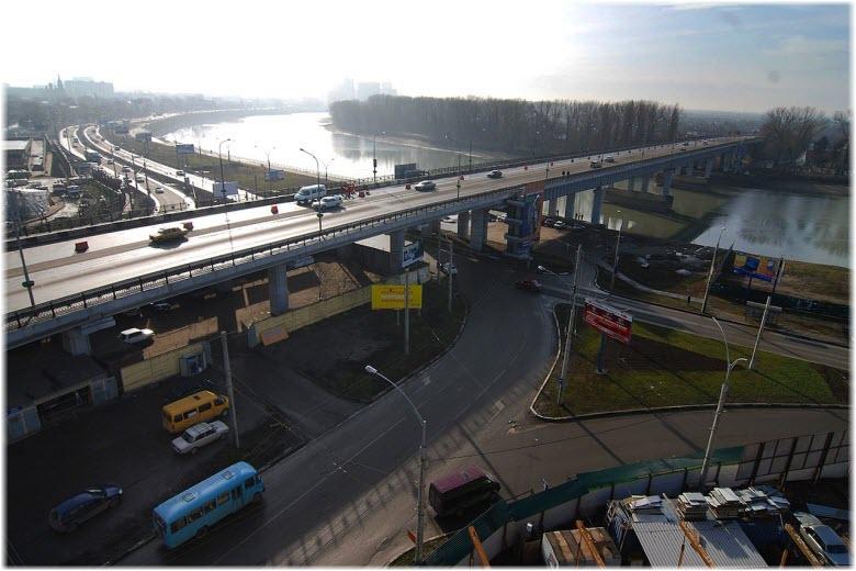 Тургеневский мост в Краснодаре