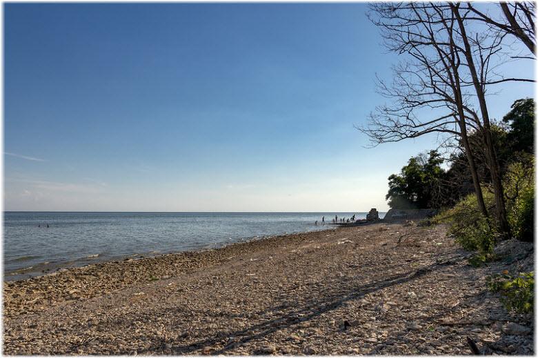 пляжи в Красном Десанте
