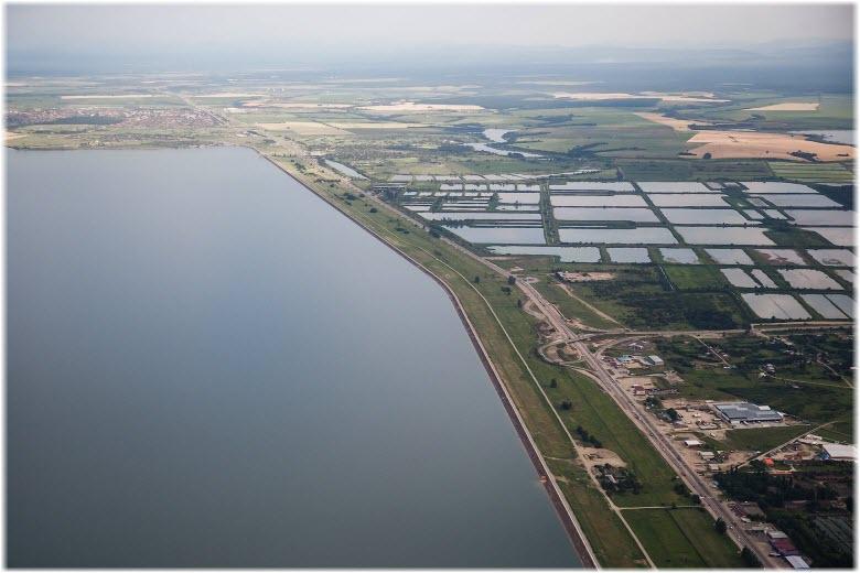 фото Краснодарского водохранилища