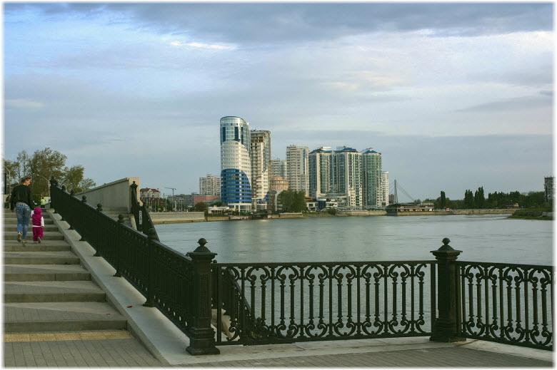 фото на Кубанской набережной