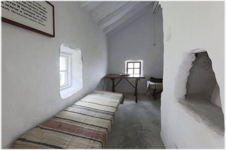 фото внутри домика Лермонтова