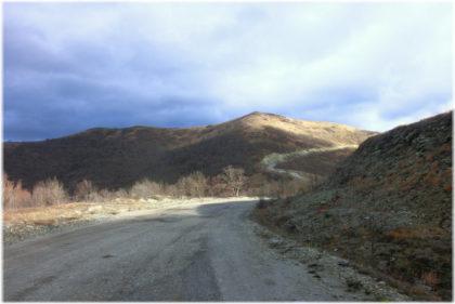 Гора Шахан в Геленджике