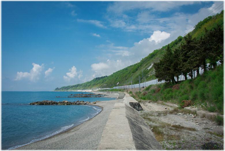 пляжи Мамедовой Щели