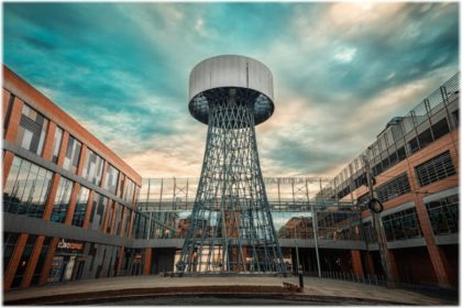Шуховская башня в Краснодаре