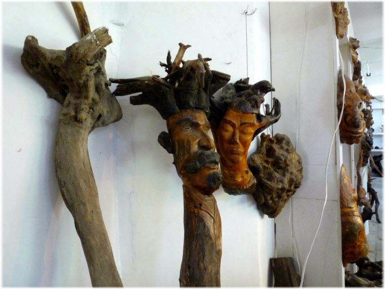 скульптуры музея деревянной скульптуры