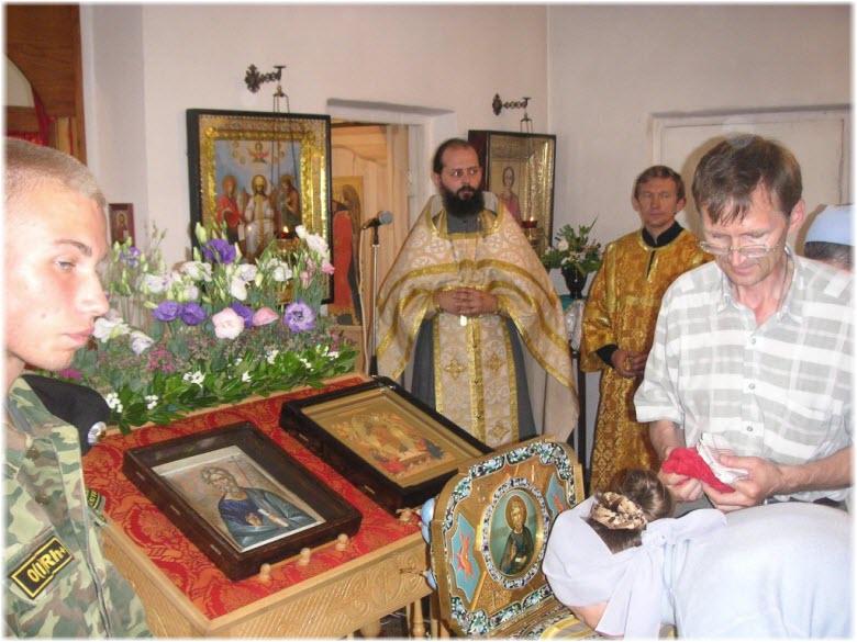 служба в Пантелеймоновском храме