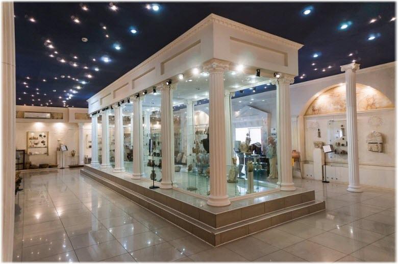 экспозиции музея Горгиппия