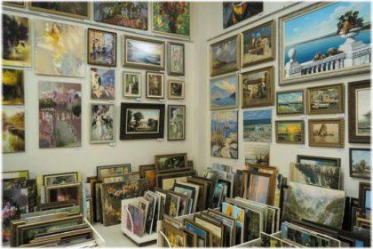 Галерея Белый квадрат в Анапе