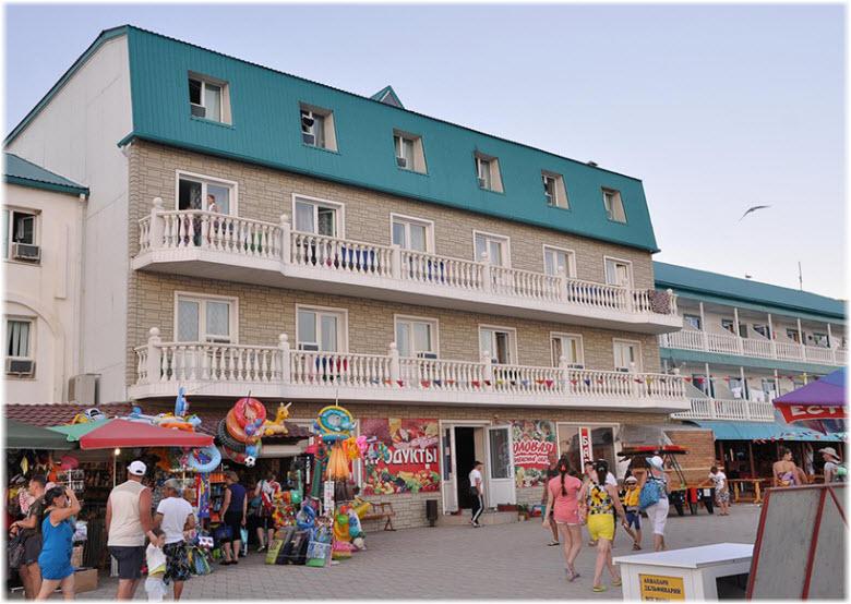 гостиница Торнадо