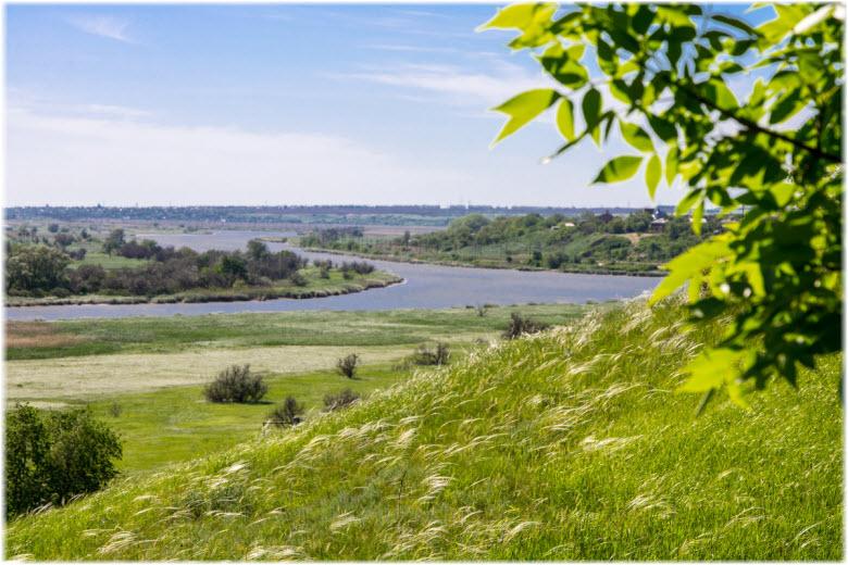 фото реки Мертвый Донец
