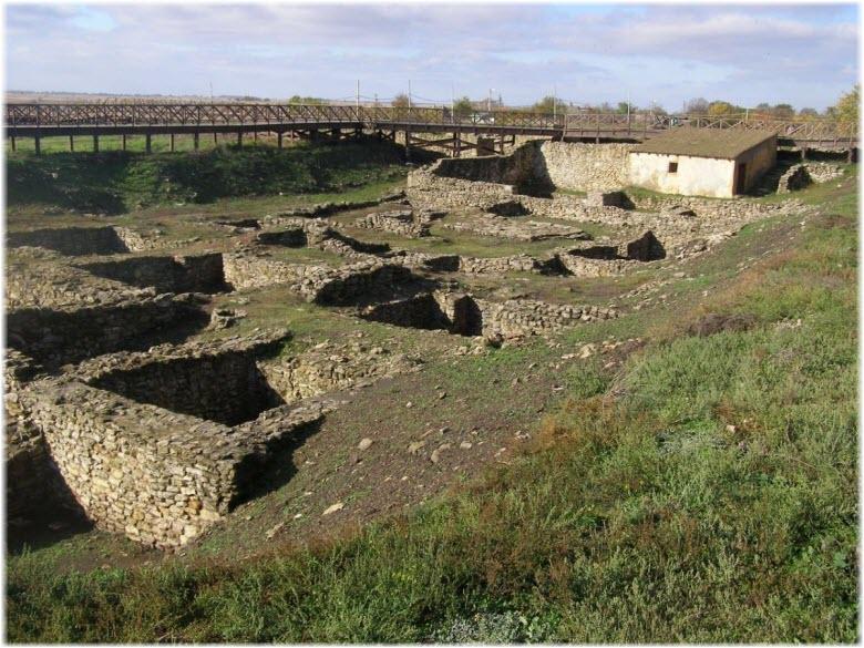 места раскопок Танаиса