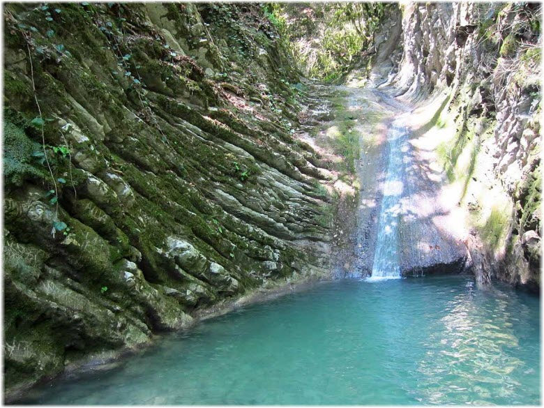 водопад Прохладный
