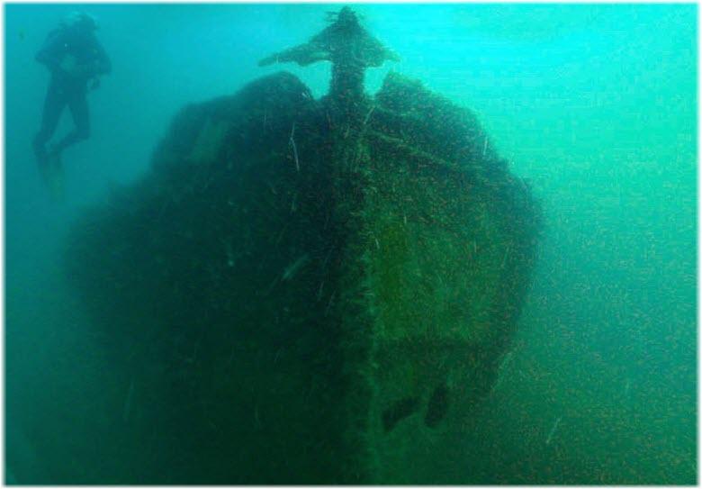 затонувший Одесский Горсовет