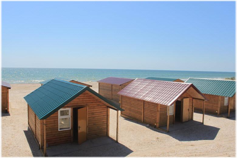 домики у моря в Витязево
