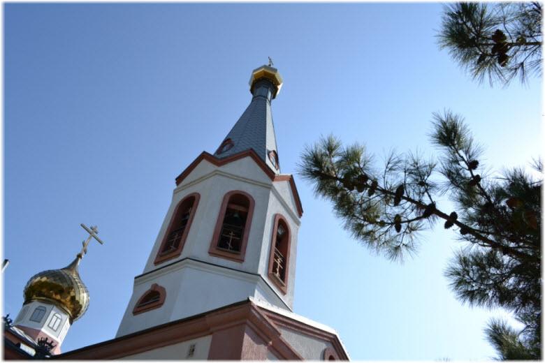 фото колокольни Преображенского храма