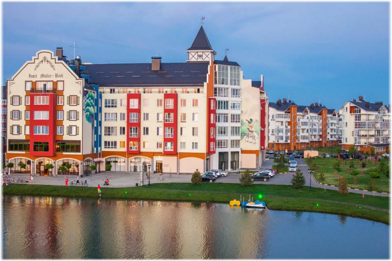 фото Лебединого озера в Немецкой деревне