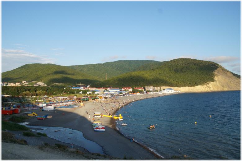 отдых в Сукко у самого моря