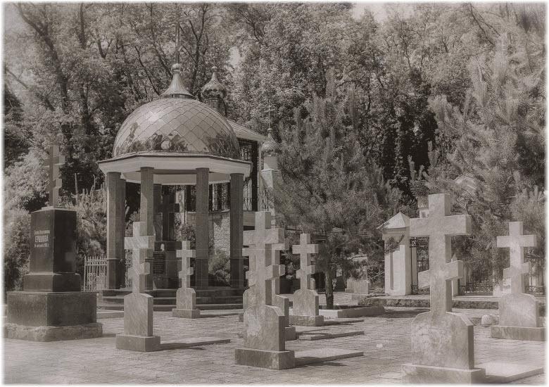 старые фото Всесвятского кладбища
