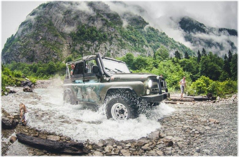 джип-туры в Абхазию
