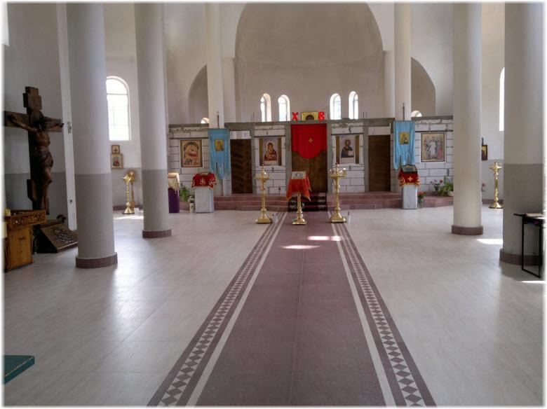 фото Казанского прихода в Дагомысе