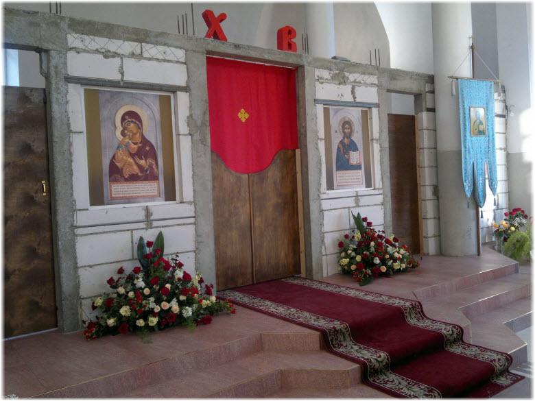 фото внутри Казанского храма