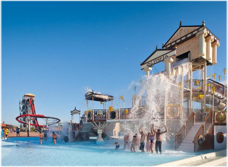 греческий аквапарк в Витязево