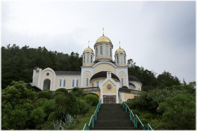 Казанский храм в Дагомысе