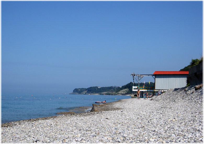 пляж в Совете-Квадже