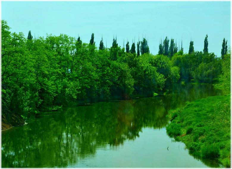 река Миус