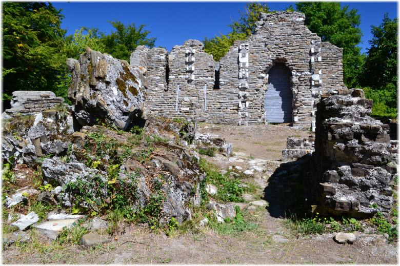 Византийские руины в Лоо