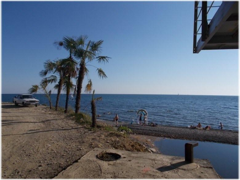 побережье Мацесты
